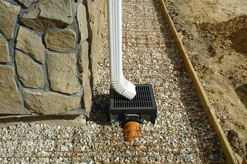 Ливневая канализация — куда сливать воду из септика