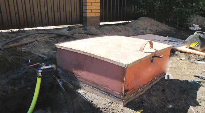 Ремонт стального кессона для скважины