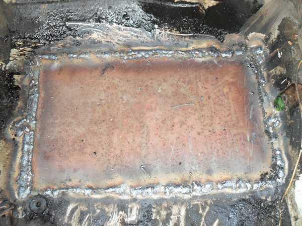 Стальная заплатка для металлического резервуара