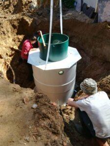 Установка автономной канализации Kolo Vesi специалистами