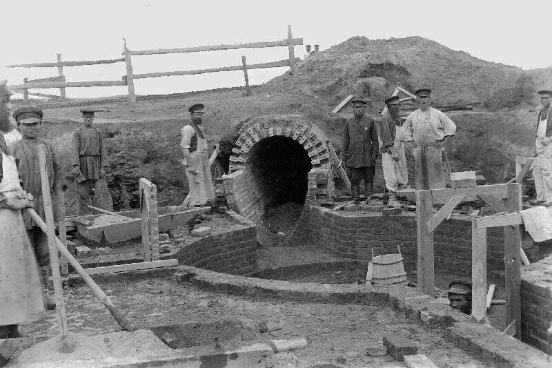 Строительство люблинских полей орошения
